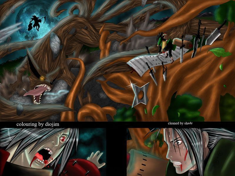 Madara VS Kyuubi