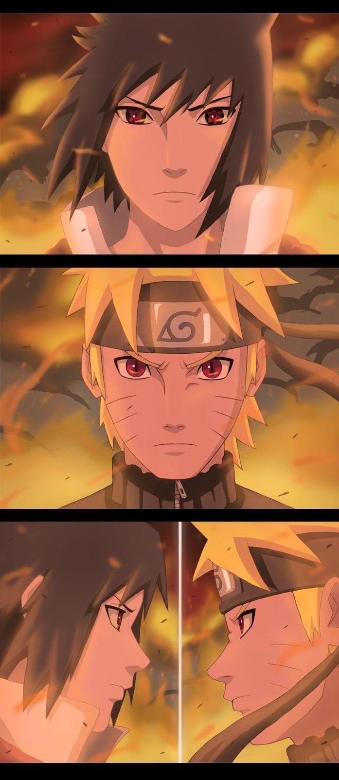 Naruto contre sasuke - Naruto akkipuden ...